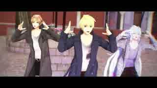 【Fate/MMD】プロトセイバーとマーリンとガウェインでスキスキ絶頂症
