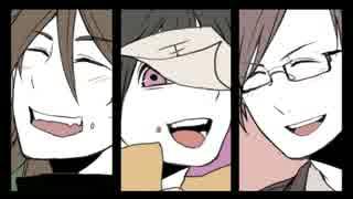 【手描き実況】いっぱい食べる組が好き【w