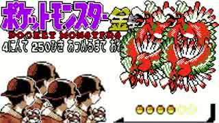 ポケモン全250匹集めるまで終われない旅 Part24【金銀】