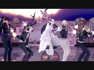 【MMD Touken Ranbu】 Furugen Genji Ikki Tousen with a bird