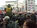一触即発!主権回復を目指す会VS中国人集団、長野駅前