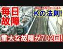 【Kの法則が大暴れ】 韓国に依頼したフィリピン!列車が毎日故障中!