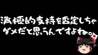 【ゆっくり保守】小沢一郎「国民の意識がおかしい」