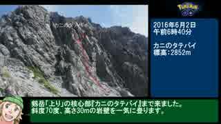 【ゆっくり】ポケモンGO 剱岳山頂ジム攻略RTA(後半)