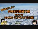 【ゆっくり】欧州5カ国巡り旅  49 NH204 ビジネスクラス編【旅行】