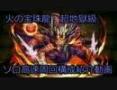 【パズドラ】火の宝珠龍超地獄級高速周回(ソロ)