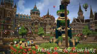 【Minecraft】ゆっくり街を広げていくよ PV