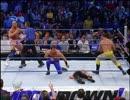 【WWE】クリス・ベノワ&カート・アングルvsロス・ゲレロス(ch.)