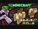 【日刊Minecraft】最強の匠は誰か!?黄昏の森 伝説の竜編【4人実況】