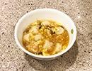 簡単! 冷凍シュウマイでワンタンスープ風とエビチリ風シュウマイを作ってみた