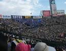 甲子園での横浜7回表「WINNING」
