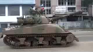 アルゼンチン陸軍のM4シャーマン