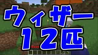 【Minecraft】ウィザー12体VS我々 part