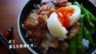ひとり豚の生姜焼き祭り【5種】