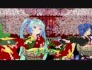 【MMD】千本桜【浴衣ミクと娘たち】
