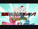週間INU&Mijiランキング 6/4~6/10
