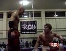 【ROH】クリストファー・ダニエルズvsブライアン・ダニエルソンvsロウキー