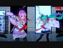 【ray-MMD】桃源恋歌(MARiAさんver)《モ