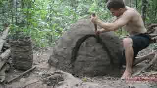ホモと学ぶかまくらの作り方.Reusable charcoal mound