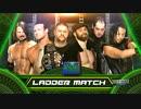 【WWE】男子マネー・イン・ザ・バンク・ラダー戦(1/2)【MITB17】