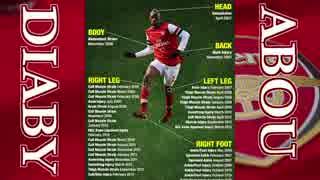 【Arsenal】 アブー・ディアビ 全ゴール 2006-2011