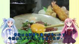 うちの琴葉姉妹は食べ盛り #10 「格安 まぐろのユッケ+α」