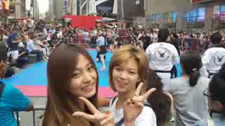 TWICE - TT in New York Times Square (