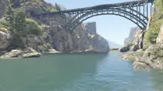 川で溺れるボーちゃんをGTAで再現した+マ