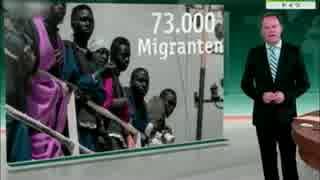 EU加盟国が門を閉ざし地中海を渡る移民を押し付けられイタリアが怒る!