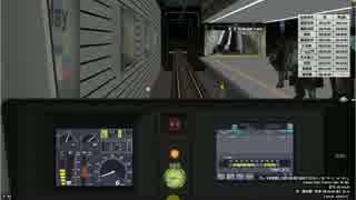 [BVE5]定時運行不可 朝の地下試験線