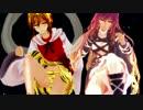 【MMD】ミニスカ聖白蓮と寅丸星でFINAL Judgment_~星蓮船子弟コンビ~