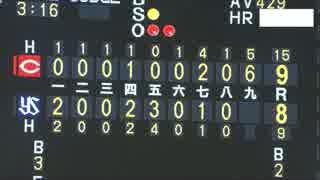 7/7カープ9回表裏ほぼノーカット【カープ2
