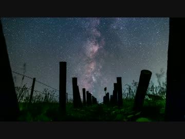 月山高原の星空