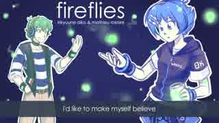 【UTAUカバー曲】Fireflies【気球音アイコ