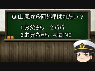 【ゆっくり解説】教えて!時雨先生! 第19講 山風ってどんな艦?