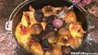 ダッチオーブンで作るローストチキン