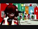 【艦これMMD】ロリっ娘大和と神風型で気まぐれメルシィ 黒ギャルVer.