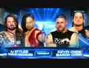 【WWE】AJ&中邑 vs KO&コービン【17.07.18】