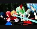 【東方MMD】チルノアート・オンライン-⑨AO Fairy Dance-過去編4「出陣」