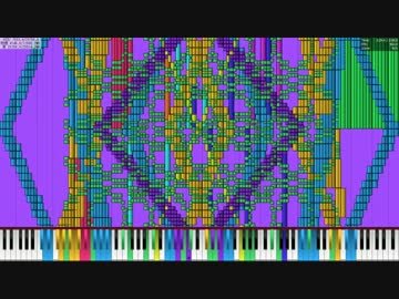 Black MIDI] Bad Apple!! 1.5 Mi...