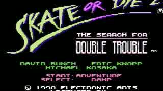 NES Game - Skate or Die