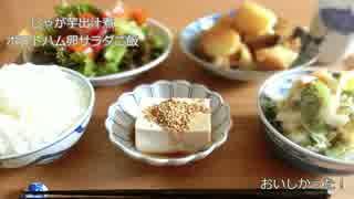 日々の料理をまとめてみた#50 -3食-