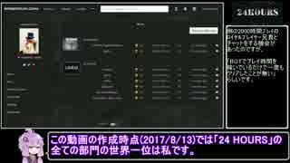【89円】24 HOURS 03:07.96(00:00.76)【RT