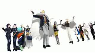 【MMD刀剣乱舞】 活撃の第一部隊隊長でわりと自由な極楽浄土