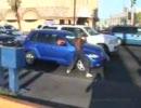 【リアル】一般車両を破壊して回る恐ろしい黒人【GTA】