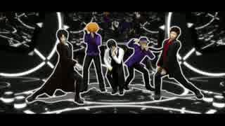 【MMD銀魂】黒いの5人のLoveHunter