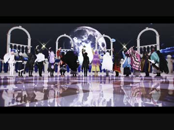 【MMD Touken Ranbu】 Rier Dance 【Knight Battle Dog】