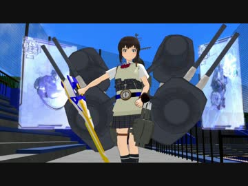 "【The 18th MMD Cup Final Late Late Group】 Ship Girls at Kamen Rider Sword OP ""Round Zero - BLADE BRAVE"""