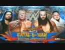 【WWE】ユニバーサル王座フェイタル4WAY戦(1/2)【SS17】