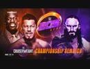 【WWE】ネヴィル(ch.)vs戸澤陽【クルーザー王座戦:205Live】